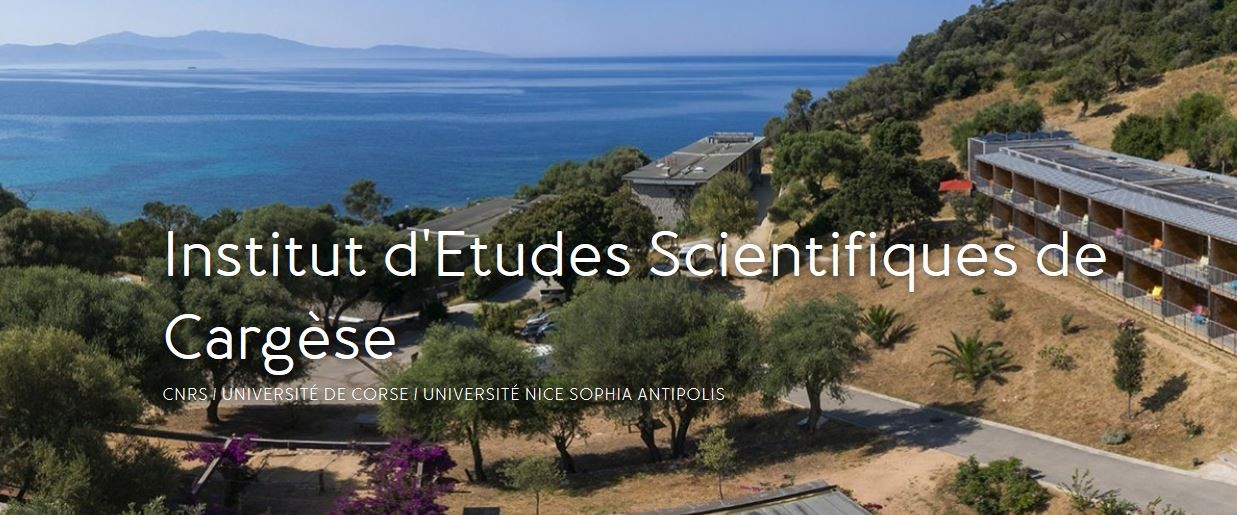 The joint Summer School is planned to take place at the IES Cargèse.
